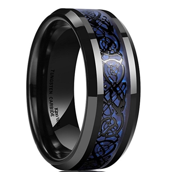 Other Tungsten Carbide Mens Celtic Dragon Wedding Band Poshmark